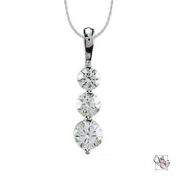Diamond Pendants at Designs by Shirlee