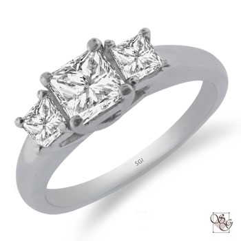 Three Stone Rings at Stowes Jewelers