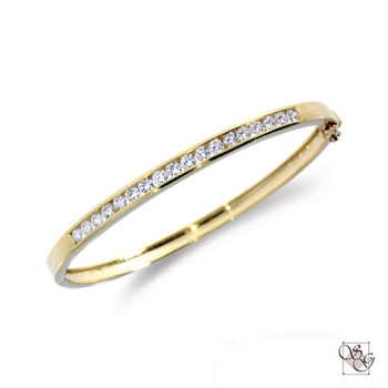 Diamond Bangles at A. T. Thomas Jewelers