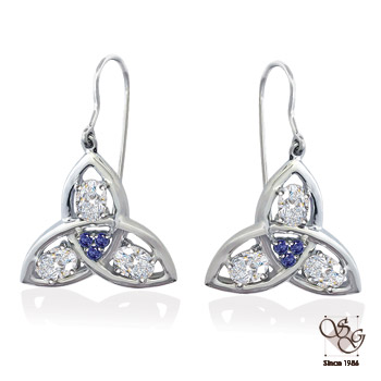 Diamond Earrings at Sam Dial Jewelers