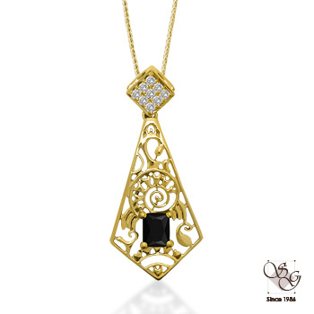 Diamond Pendants at ASK Design Jewelers
