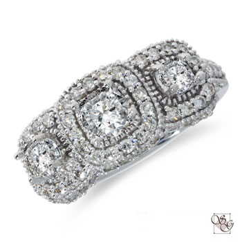 Three Stone Rings at Sam Dial Jewelers