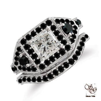 Black and White Diamond Collection at More Than Diamonds