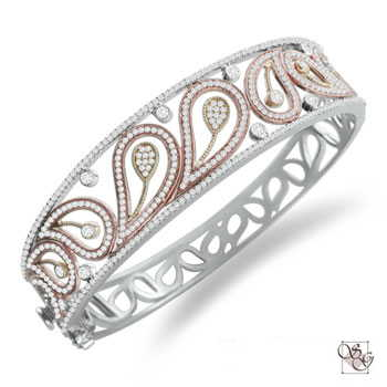 Diamond Bangles at Henry B. Ball Co.