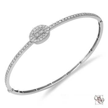 Diamond Bangles at Gumer & Co Jewelry