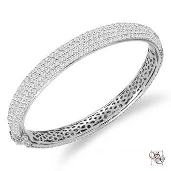 Diamond Bangles at The Gold and Silver Exchange
