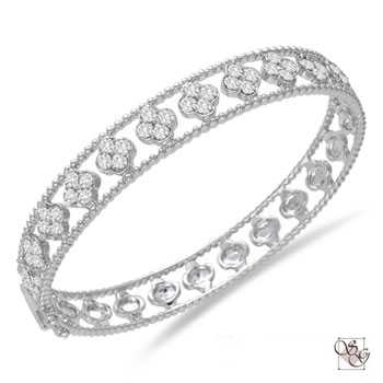 Diamond Bangles at Designs by Shirlee