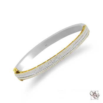 Diamond Bangles at ASK Design Jewelers