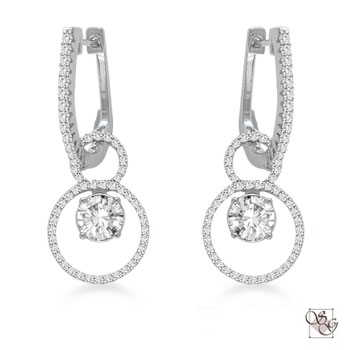 Diamond Earrings at Quinns Goldsmith
