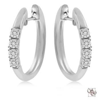 Diamond Earrings at Classic Designs Jewelry