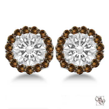 Diamond Earrings at A.L. Terry Jewelers