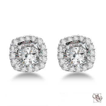 Diamond Earrings at Designs by Shirlee