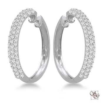 Diamond Earrings at Gumer & Co Jewelry