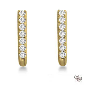 Diamond Earrings at Intrigue Jewelers