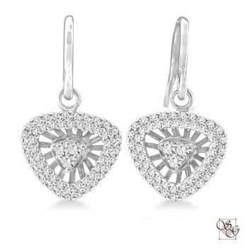 Diamond Earrings at TJ