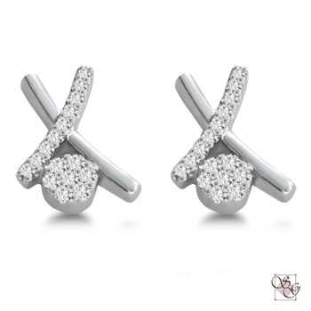 Diamond Earrings at Jefferson Estate Jewelers