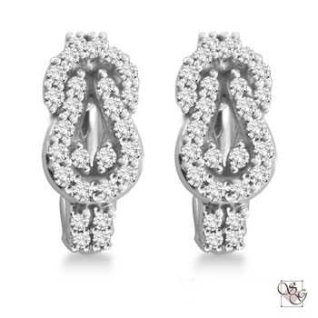 Diamond Earrings at Arthur