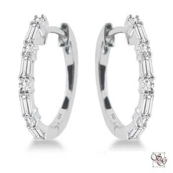 Diamond Earrings at ASK Design Jewelers