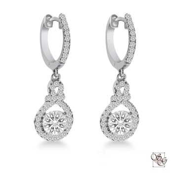 Diamond Earrings at The Gold and Silver Exchange