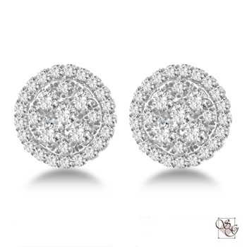 Diamond Earrings at J Mullins Jewelry & Gifts LLC