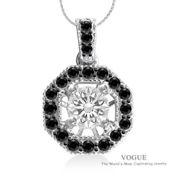 Black and White Diamond Collection at A. T. Thomas Jewelers