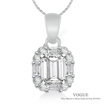 Diamond Pendants at More Than Diamonds