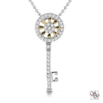 Diamond Pendants at Arthur