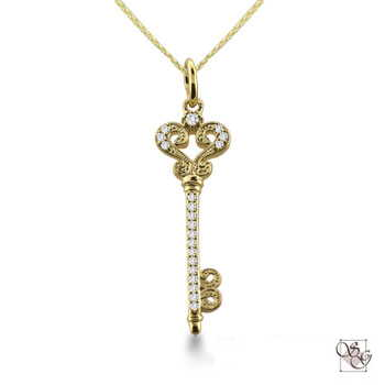 Diamond Pendants at Stephen