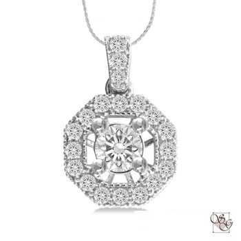 Diamond Pendants at Pearson