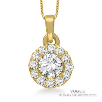 Diamond Pendants at Timothy