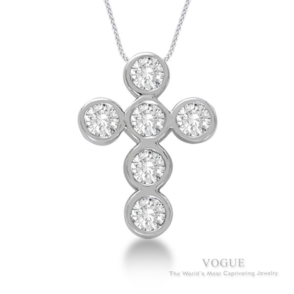 Diamond Pendants at J. David Jewelry