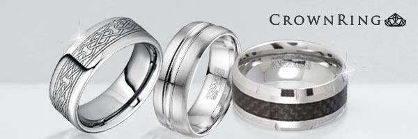 wedding bands cobaltchrome precious metals tungsten