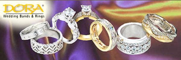 Dora Wedding Bands and Rings