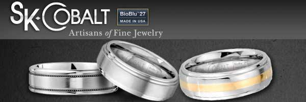 Scott Kay Cobalt rings for men