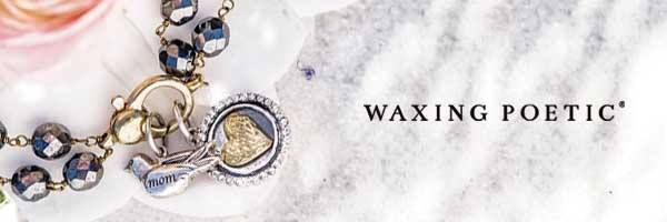 Waxing Poetic's handcrafted women's jewelry available at Pharaoh's Jewelers