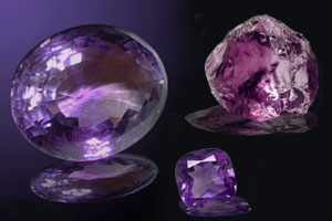 February Stone of the month Amethyst