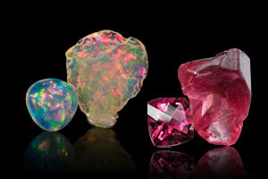 October Stone of the month Opal or Tourmaline