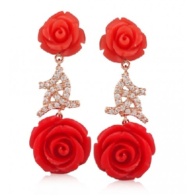 Angelique de Paris - giardino-earring