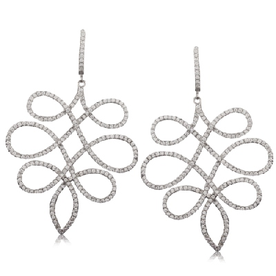 Angelique de Paris - arabesque-earrings