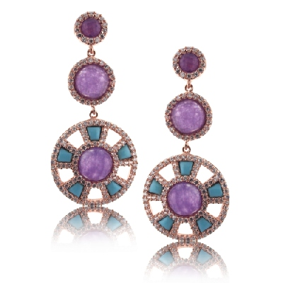 Angelique de Paris - chantilly-earrings
