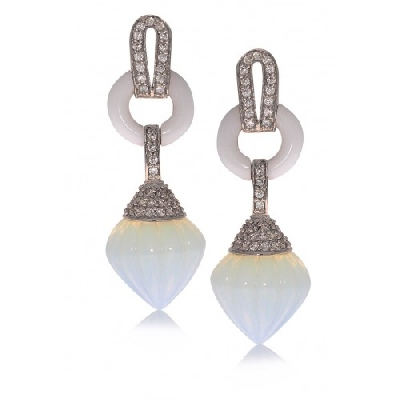 Angelique de Paris - dahlia-earrings