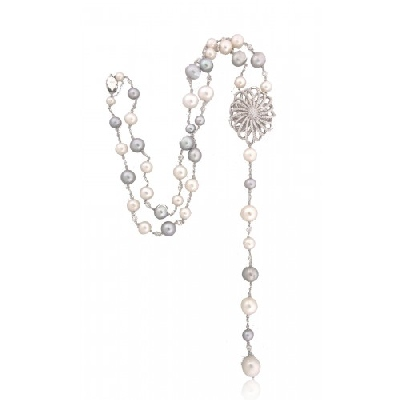 Angelique de Paris - lariat-necklace