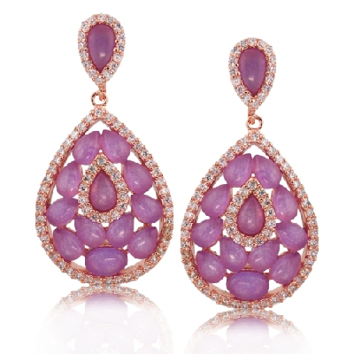 Angelique de Paris - paillettes-earrings