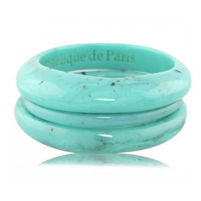 Angelique de Paris - set-of-three-resin-bangles