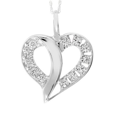 Artcarved Celebrations of Life - Passion Heart Pendant