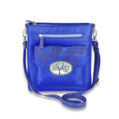 Bags - XBDY-BL-BLUE-TREE-OF-LIFE