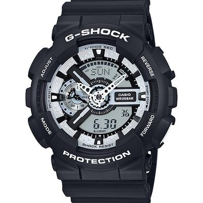 G Shock - GA110BW-1A