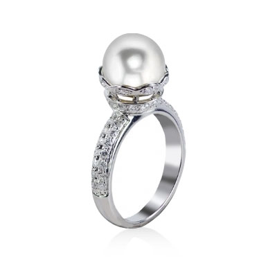 Imperial Pearl-Sparkle Collection - 916903/WH