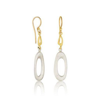 Earrings - RFLS-E-102-SILG-1
