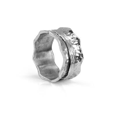 Meditation Rings - MR540SIL